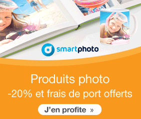 Smartphoto : 20% sur vos cartes de visite